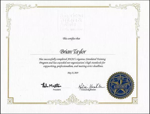 Copywriting Certificate
